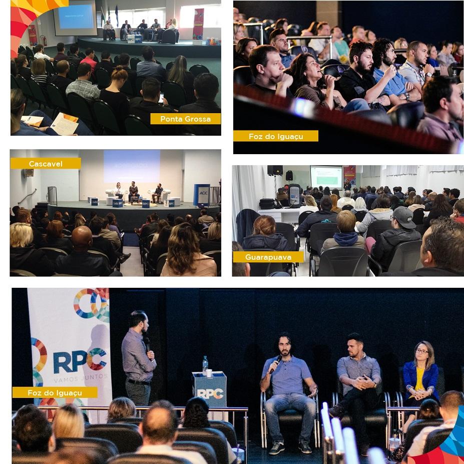 Apresentações já foram realizadas em Cascavel, Foz, Ponta Grossa e Guarapuava.