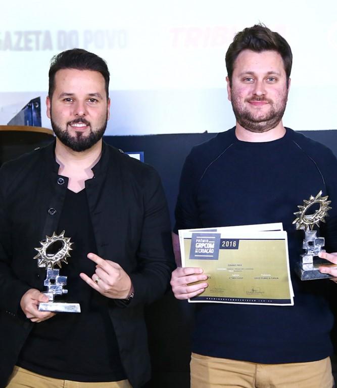 RPC Londrina vencedores Prêmio GRPCOM de Criação