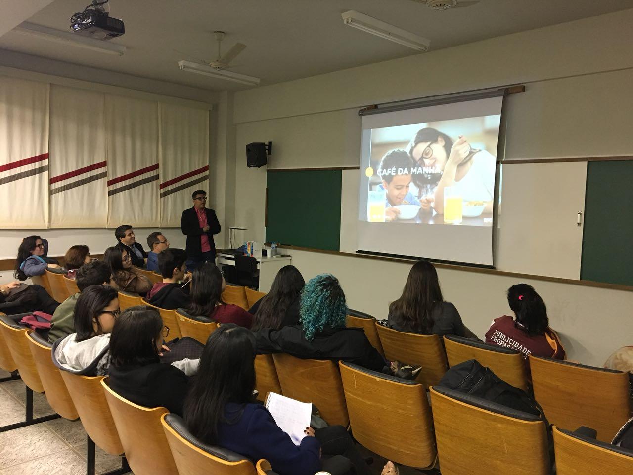 No dia 22 de maio, aconteceu em Umuarama, um bate papo com os alunos do curso de Publicidade e Propaganda da Unipar e a RPC Noroeste.